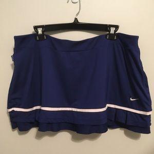 Nike Dri Fit Blue Tennis Skirt Skort | XL